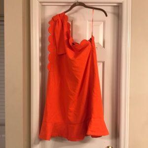 Cute one shoulder dress